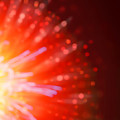 Abstract Blur Firework Background by Anna Om