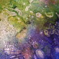Abstract Bubbles And Rivers by Darla J Bower Oder