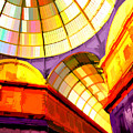 Abstract Cathedral Color Wheel by Elaine Plesser