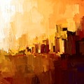 Abstract City by Bruce Young