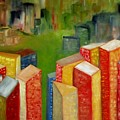 Abstract Cityscape Project Series II by Patricia Cleasby
