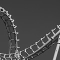 Abstract Coaster Panoramic by Tom Gari Gallery-Three-Photography