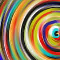 abstract Colurfull Rings by Hassan Qureshi