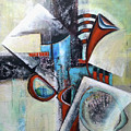 Abstract Composition by Florentina Maria Popescu