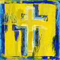 Abstract Crosses by David G Paul