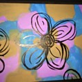 Abstract Daisy  by Sarah Campbell