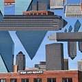 Abstract Dallas by Emily Miller