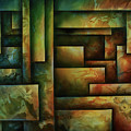 Abstract Design 102 by Michael Lang