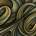 Abstract Design 12 by Michael Lang