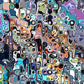 Abstract Digital Doodle 2 by Phil Perkins