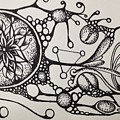 Abstract Drawing by Kyle Bowen