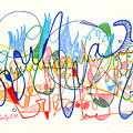 Abstract Drawing Two by Lynne Taetzsch