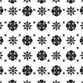Abstract Ethnic Seamless Floral Pattern Design by Svetlana Corghencea