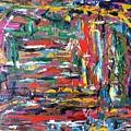 Abstract Expressionism Bvdschueren by Bart Van Der Schueren
