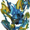 Abstract Expressionism Painting Series 715.102710 by Kris Haas