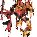Abstract Expressionism Painting Series 744.102110 by Kris Haas