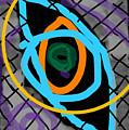 Abstract Eye by David R Keith