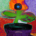 Abstract Floral Art 114 by Miss Pet Sitter