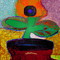 Abstract Floral Art 116 by Miss Pet Sitter