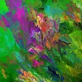 Abstract Floral Fantasy 071912 by David Lane