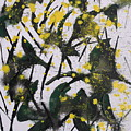 Abstract Floral Study by Angie Wright