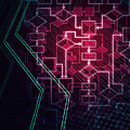 Abstract Flowchart Background by Oleksiy Maksymenko
