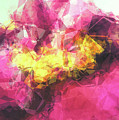 Abstract Flower by Angela Doelling AD DESIGN Photo and PhotoArt