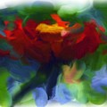 Abstract Flower Expressions 2 by Robyn King