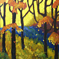 Abstract Forest by Richard T Pranke