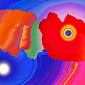 Abstract Fortaleza 2 by Jean-luc Bohin