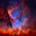 Abstract Galactic Nebula With Cosmic Cloud 2 by Asar Studios