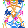Abstract Garden #3 by Bee-Bee Deigner