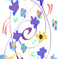 Abstract Garden Nr 7 Naif Style by Bee-Bee Deigner