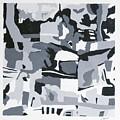 Abstract Grey by Joseph Bradley