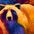Abstract Grizz II by Marion Rose