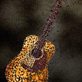 Abstract Guitar by Michael Tompsett