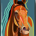 Abstract Horse by Dania Sierra