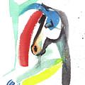 Abstract Horse by Go Van Kampen