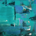 Abstract In Blue by Gina De Gorna