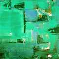 Abstract In Green by Gina De Gorna