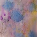 Abstract In Red, Blue, And Yellow by Peter v Quenter