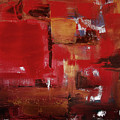 Abstract In Red by Gina De Gorna