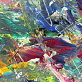 Abstract Jungle 10 by Anita Burgermeister