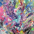 Abstract Jungle 11 by Anita Burgermeister