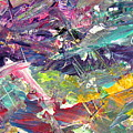 Abstract Jungle 6 by Anita Burgermeister