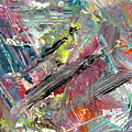 Abstract Jungle 8 by Anita Burgermeister