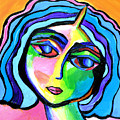 Abstract Lady A32916 by Mas Art Studio