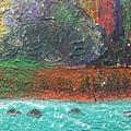 Abstract Landscape 15-oo by Virginia Margarita