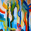 Abstract Landscape by Carola Ann-Margret Forsberg