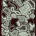 Abstract Landscape - Hand Drawn Pattern by Ivan Dinkov